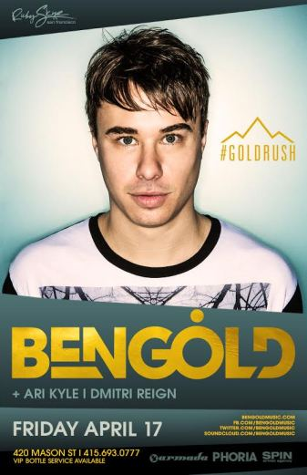 ben gold poster
